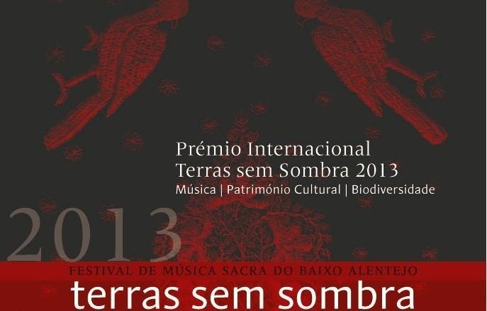 PRÉMIO TERRAS SEM SOMBRA 2013