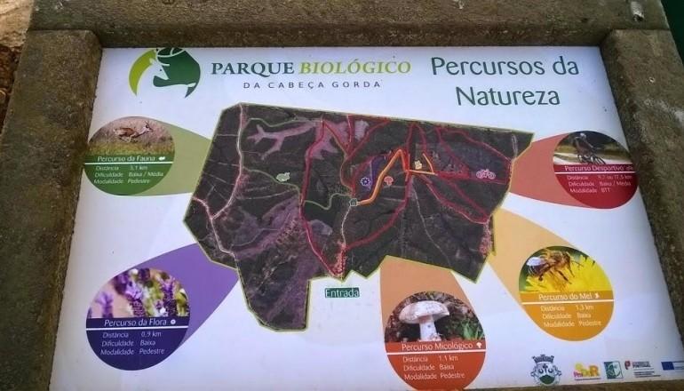Percursos Parque Biológico de Cabeça Gorda