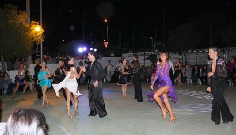 Danças de salão Cultuneves 2012