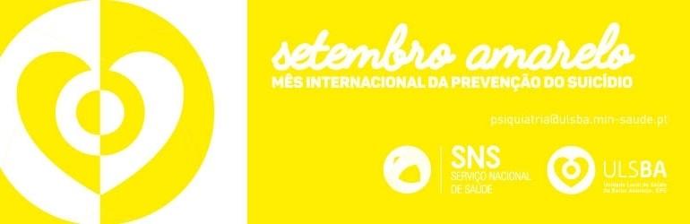 Setembro Amarelo banner