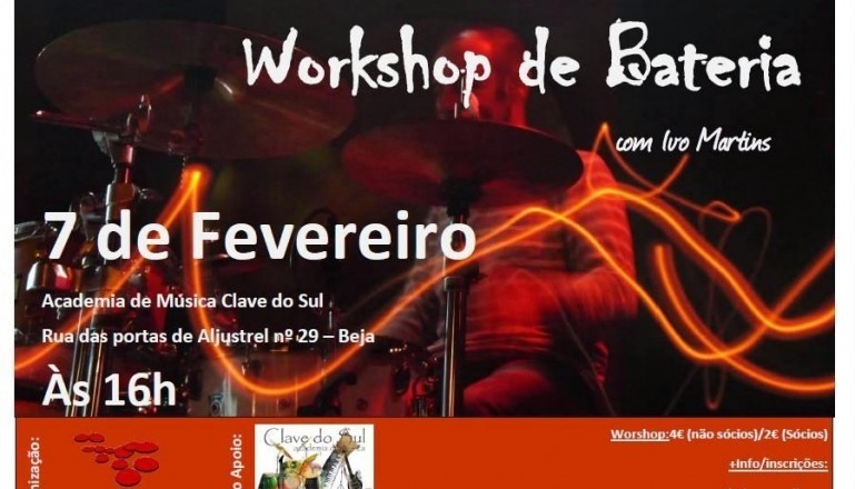 Workshop de Bateria