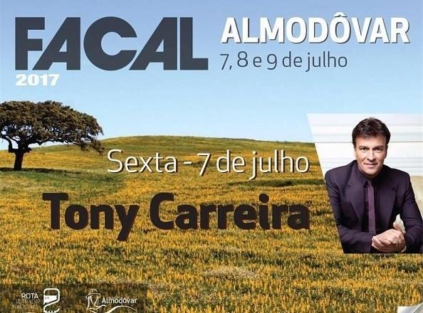 Tony Carreira na FACAL 2017