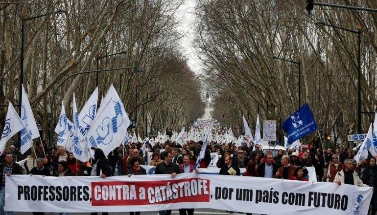 Manifestação Professores