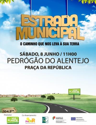 Estrada Municipal - Pedrógão do Alentejo