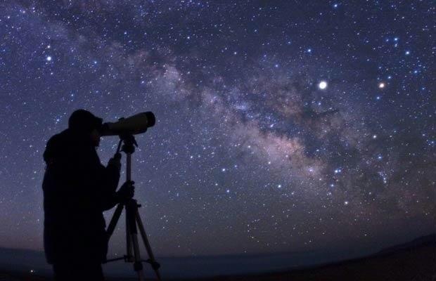 Observação das estrelas