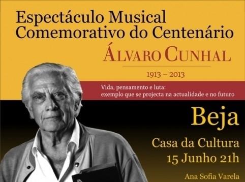 Espetaculo Alvaro Cunhal