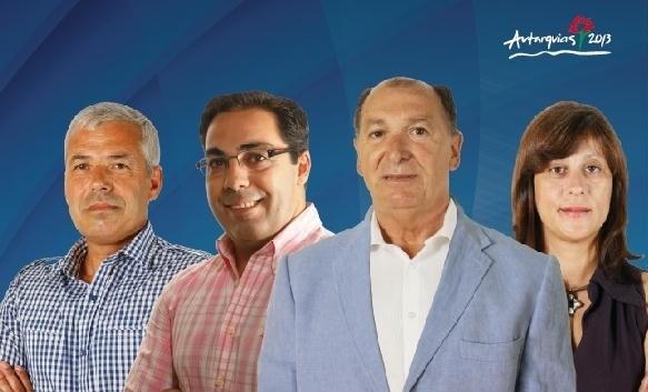 Candidatos CDU Beja