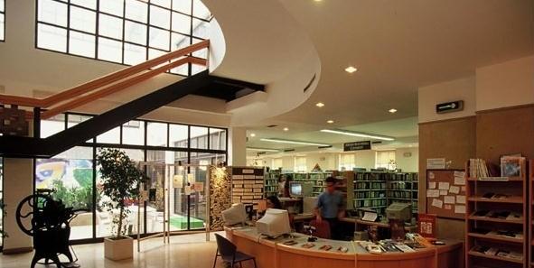 Biblioteca Municipal de Beja foto do interior