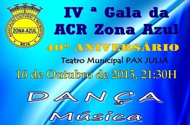 zona azul gala 2015