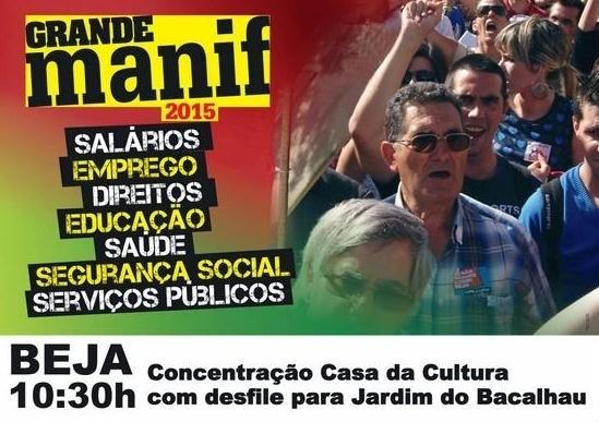 manifestação 7 Março Beja