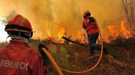 bombeiros incêndios