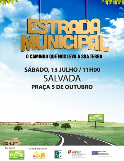 Estrada Municipal - Salvada