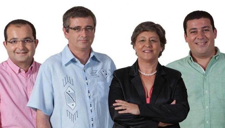 SANTIAGO MACIAS E EQUIPA DE MOURA