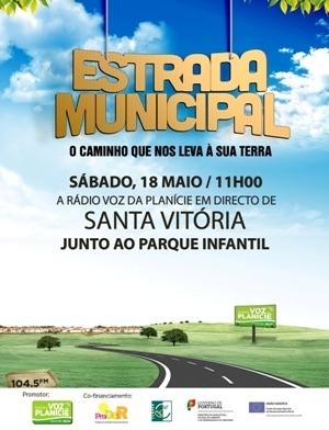 Estrada Municipal - Santa Vitória