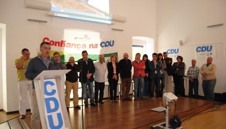 Apresentação candidatos CDU - Vidigueira