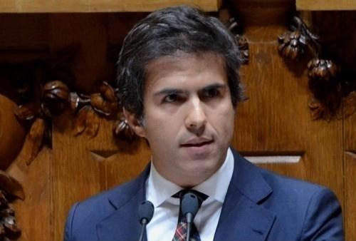 Secretário de Estado do Turismo Adolfo Mesquita Nunes
