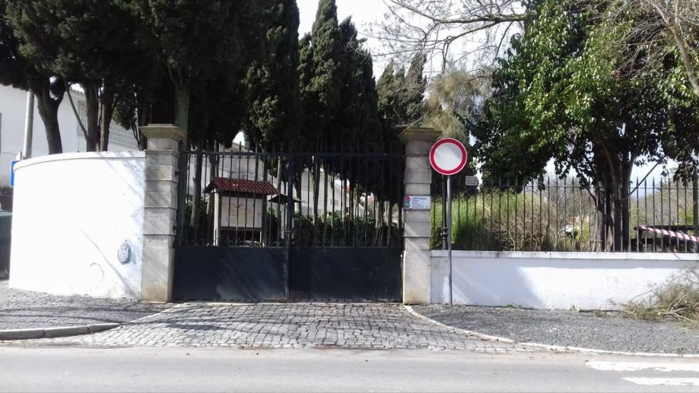 jardim fechado