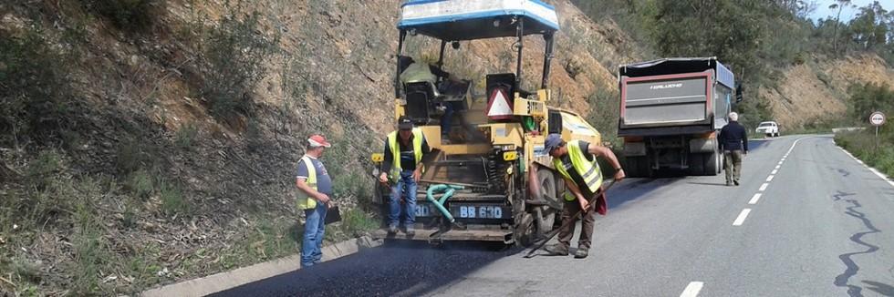Intervenção estrada Odemira