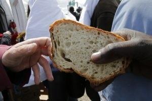partilha pão