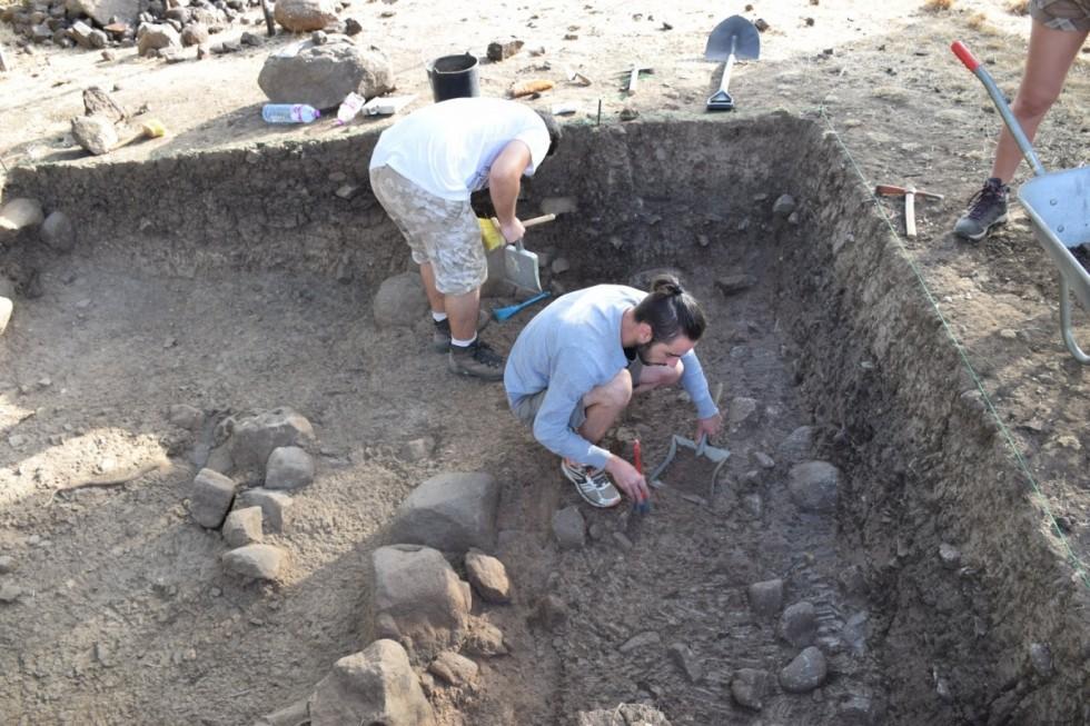 outeiro escavações