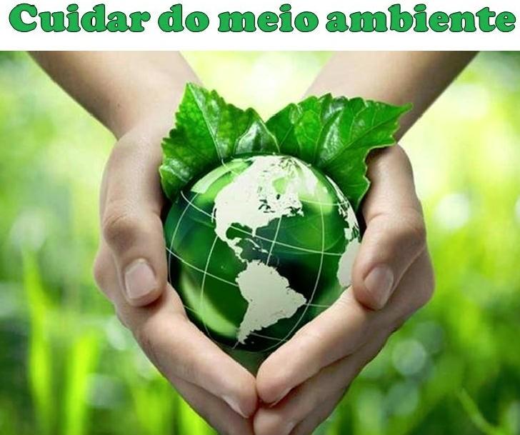 cuidar meio ambiente