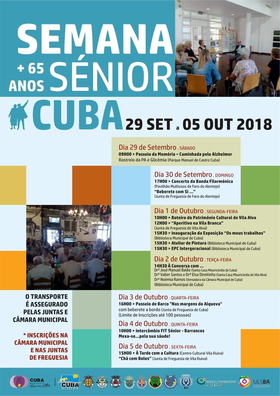 Semana Sénior Cuba 2018