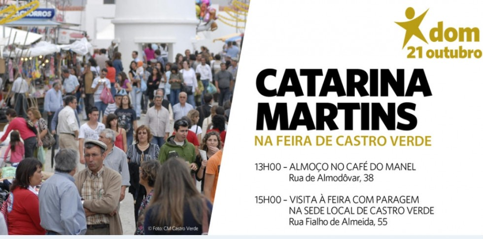 BE visita Feira de Castro