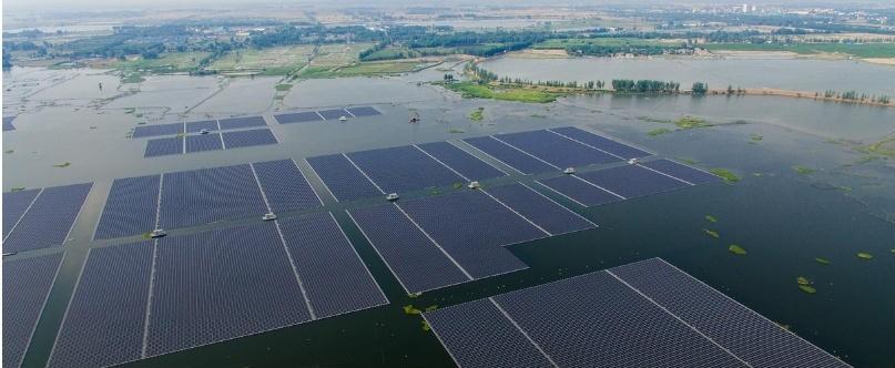 Central Fotovoltaica Flutuante