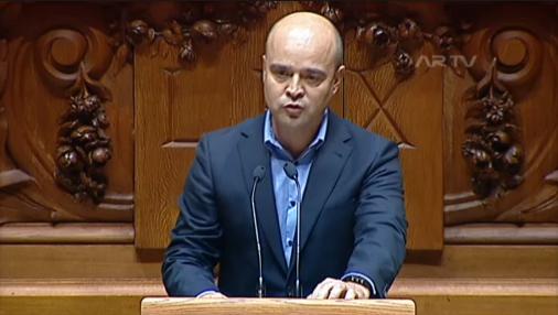 Deputado João Dias Parlamento