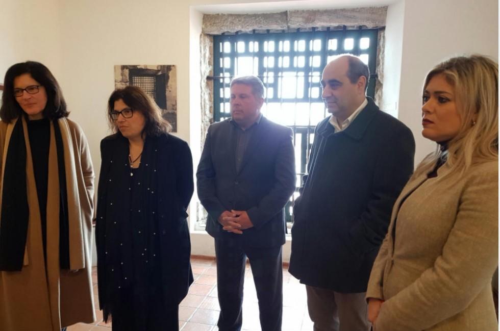 Visita secretária de Estado da Cultura