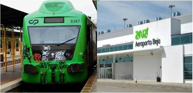 Ferrovia e aeroporto