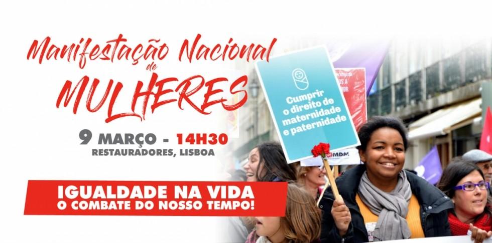 Manifestação Lisboa MDM