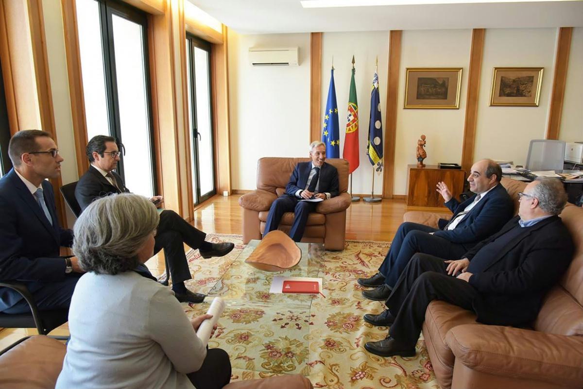 Reunião Paulo Arsénio com ministro da Defesa