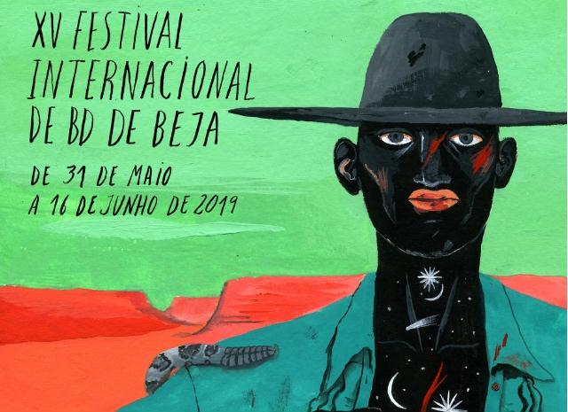 Cartaz Festival BD Beja 2019
