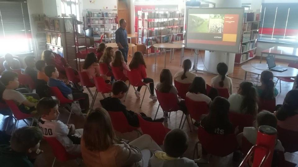alunos sessões Beja Romana