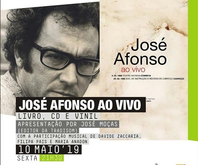 Lançamento Livro José Afonso