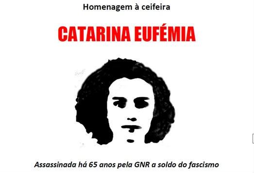 Homenagem BE Catarina Eufémia