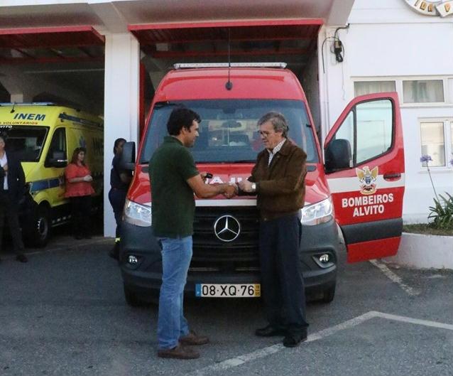 UCASUL oferece ambulância BV Alvito