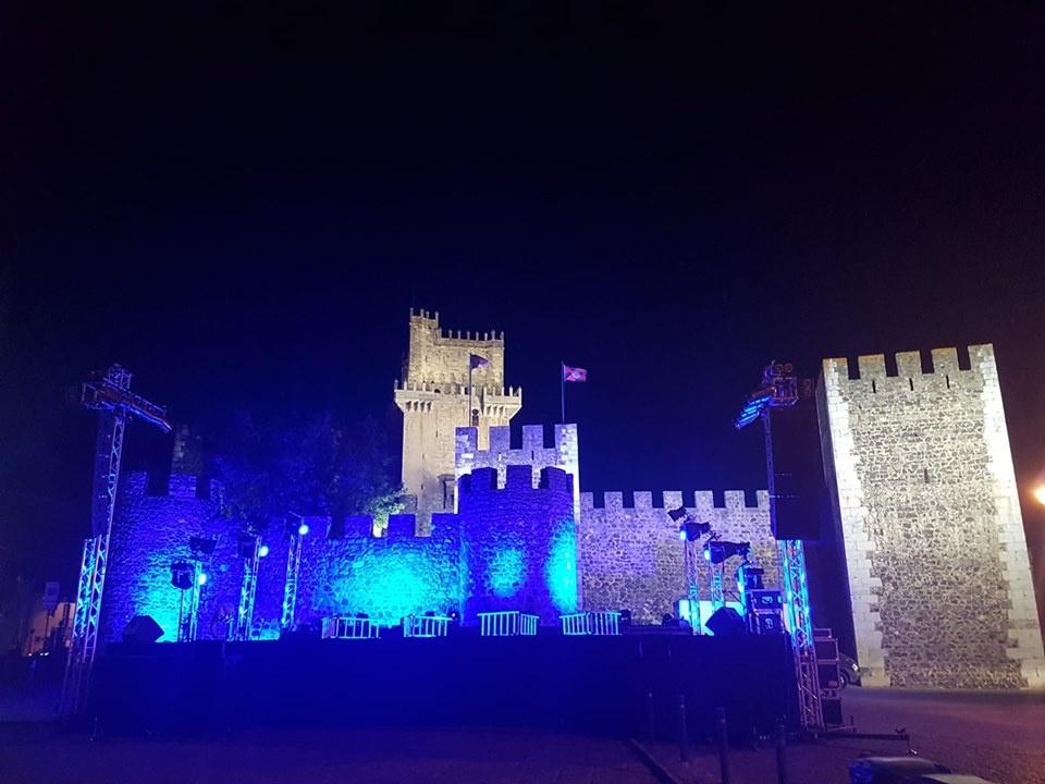 Castelo Beja (foto tirada do facebook Festival B)