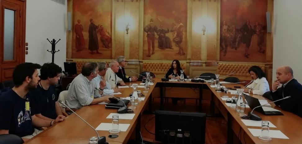 Plataforma Alentejo reuniões