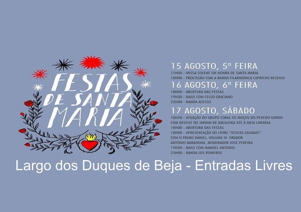 Festas Santa Maria 2019