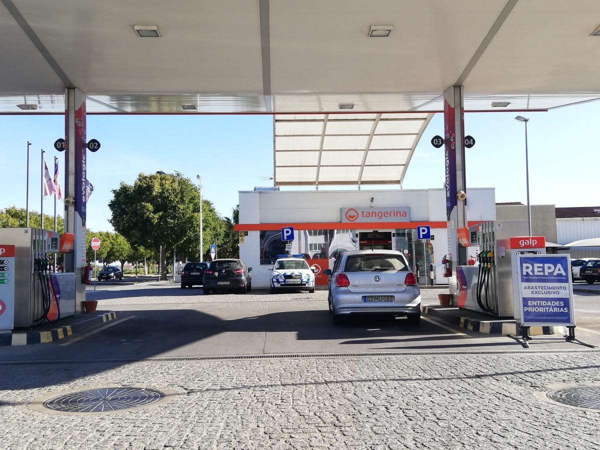 Postos de combustível Beja
