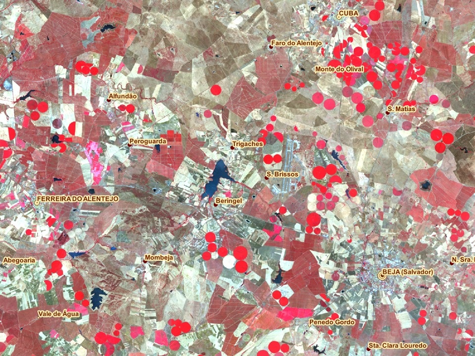 imagem satélite