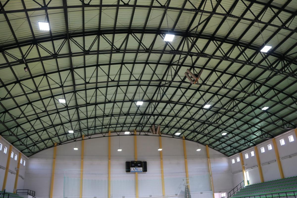 luz Pavilhão Carlos Pinhão