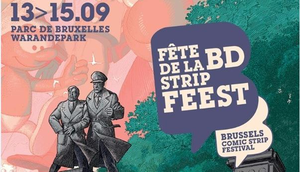 Festa da BD em Bruxelas