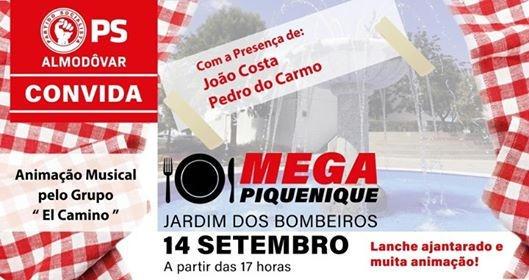 Mega Piquenique PS Almodôvar