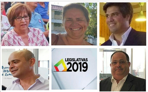 Candidatos Legislativas 2019 Beja