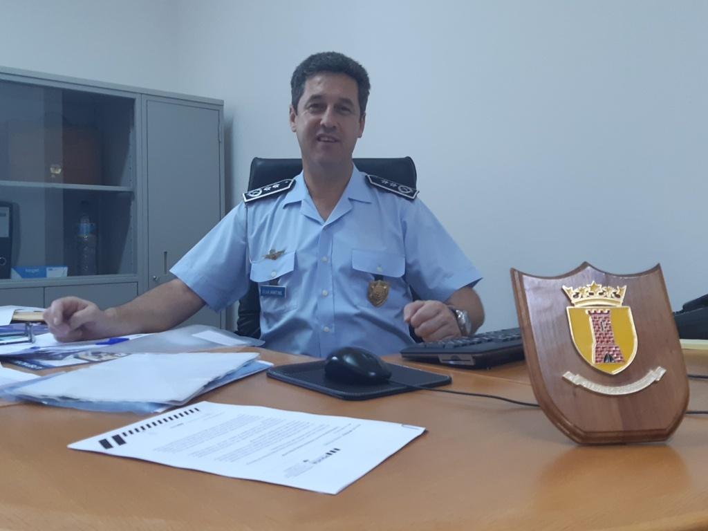 2º Comandante PSP Beja