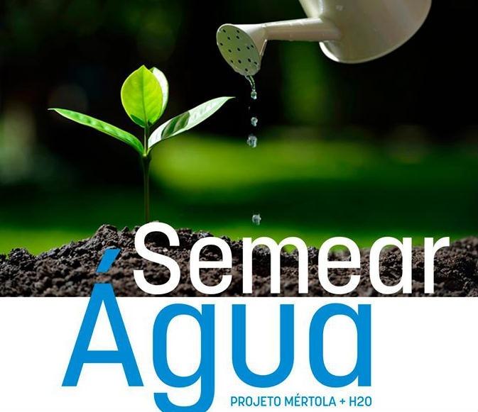 semear água