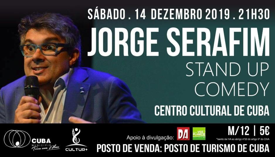 Jorge Serafim espetáculo Cuba